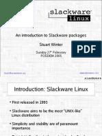 Slackware Pkg Presentation