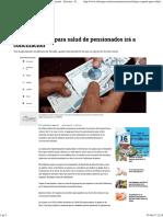Rebaja a Aporte Para Salud de Pensionados, A Conciliación - Sectores - Economía - ELTIEMPO