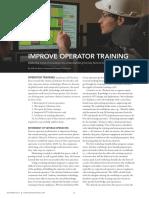 Improve Operator Training