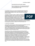 La Psicologia Educativa en El Peru
