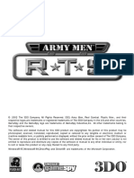 Army Men RTS - Manual
