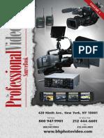 B&H Pro Video SourceBook Vol1