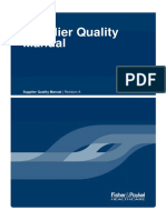 Supplier Quality Manual MSP 3 A