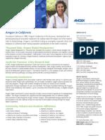 Amgen in California Fact Sheet