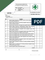 Daftar Tilik Pelaksanaan Orientasi