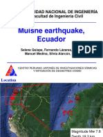 Muisne Earthquake, ECUADOR