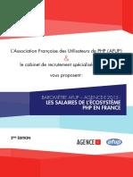 AFUP - Baromètre 2015