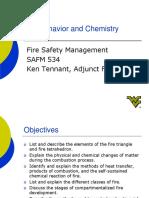 Module 1.2 Fire Chemistry