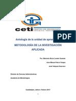 Antologia-metodología de La Inv. Aplicada