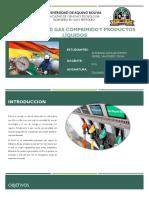 Estaciones de Gas Comprimido y Productos Líquidos