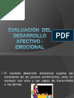 Desarrollo Afectivo y Emocional