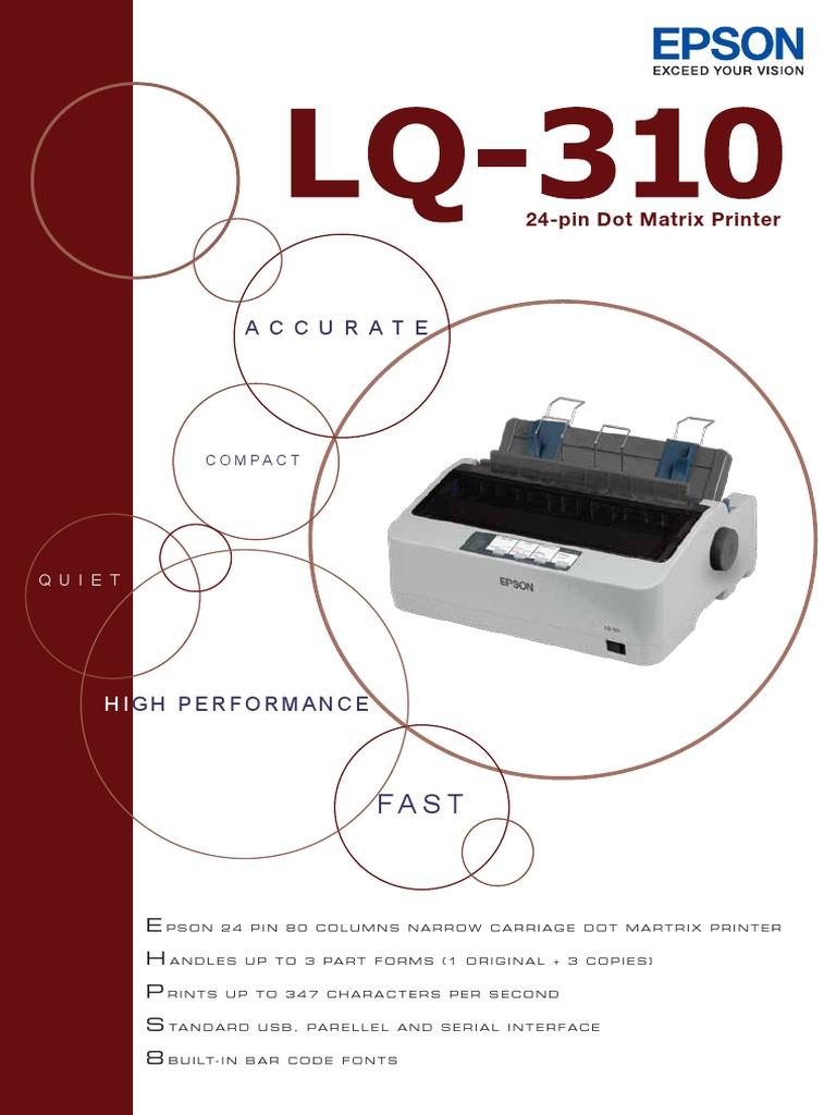 LQ-310 | Printer (Computing) | Office Equipment