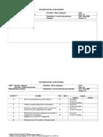 Description de La Procédure Aides Au Logement