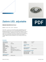 Zadora LED, adjustable