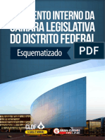 Regimento Interno da Câmara Legislativa do Distrito Federal - Esquematizada