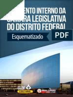 Regimento Interno da Câmara Legislativa do Distrito Federal - Esquematizada