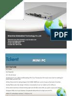 MINI PC X2550 Embedded Technology