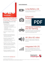 Snapdragon 625 Processor Product Brief