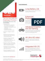 Snapdragon 625 Processor Product Brief