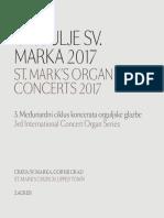 Organ Concert Program Book