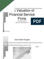 Financial Firms - Aswath Damodaran