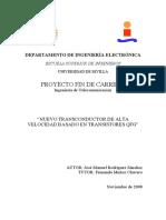Nuevo Transconductor de Alta Velocidad Basado en Transistores QFG
