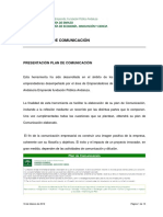 Manual Plan de Comunicacion