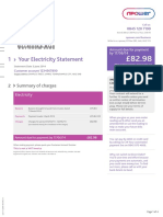 Npower Example Bill