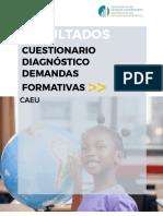Cuestionario de Diagnóstico de Demandas  Formativas Docentes