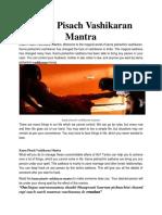 Best Most Powerful Vashikaran Mantra Specialist