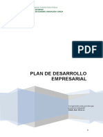 Plan Desarrollo Empresarial