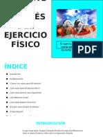 Alimentación Antes y Después Del Ejercicio Físico
