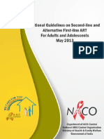 Guidelines on Second-line and Alternative First-line ART for Adults and Adolescents May 2013_0