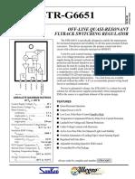 datasheet STR-G6653.pdf