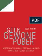 Geen gewone puber - Noor Tromp (leesfragment)
