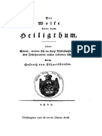 De Wolk Boven Het Heiligdom - Karl Von Eckartshausen