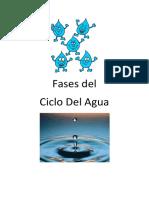 Ciclo Del Agua Entrega de Trabajo