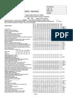 Mercedes Service B Sheet Checklist