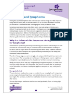 Nutrition and Lymphoma