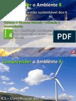 Gestão Sustentável de Recursos Ciências Naturais 8º