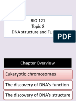 Chap 8 DNA Structure and Function
