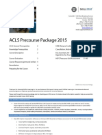 ACLS Pre Course Package 2015 BC Active
