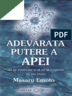 M.Emoto - Adevărata putere a apei [8zC].pdf