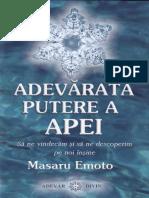 M.Emoto - Adevărata putere a apei [SSC].pdf