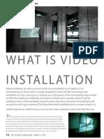 magazine video installation2