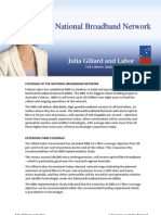National Broadband Network - Fact Sheet