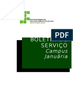 Boletim Serviço Maio 2012