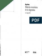 Roy Hora - Historia Economica de La Argentina en El Siglo XIX