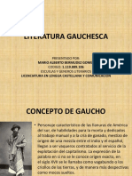 LITERATURA GAUCHESCA (2)