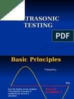4 Ultrasonic Testing